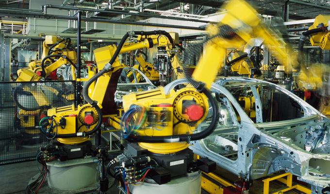 Wycena maszyn i urządzeń - oferta dla Przemysłu, zdjęcie fabryki samochodowej