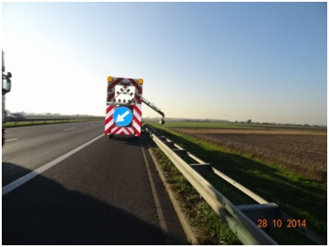 Supervision des travaux de modernisation sur l'autoroute A4