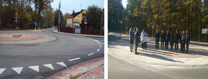 Supervision of the construction of district roads in Celestynów commune