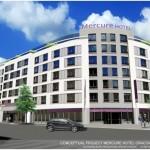 Budowa MERCURE Kraków Centrum