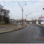 Nadzór inwestorski nad budową nowego odcinka ulicy Międzyborskiej na Gocławiu w Warszawie