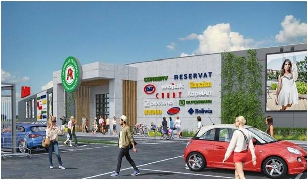 Wizualizacja: Materiały Auchan