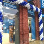 Opening of a new Decathlon store in Manufaktura shopping mall located in Lodz